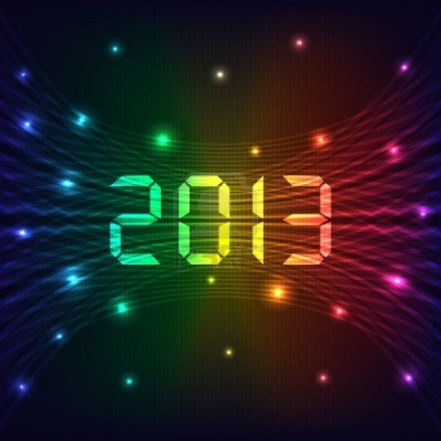 Goodbye 2012, Hello 2013!