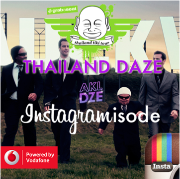Pop Culture Musings – Auckland Daze travel to Thailand for the first ever, Instagramisode?