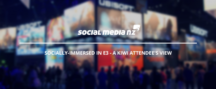 Socially-immersed in E3 – A Kiwi attendee's view