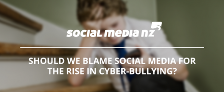 Should we blame social media for the rise in cyber-bullying?