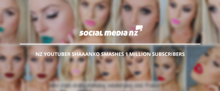 NZ YouTuber Shaaanxo smashes 1 million subscribers