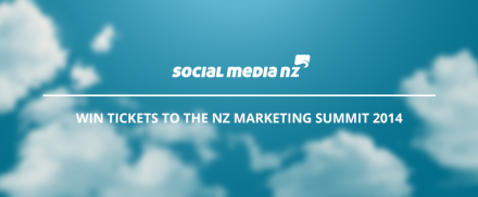 Win tickets to the NZ Marketing Summit 2014