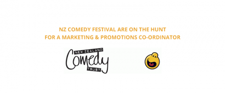 NZ Comedy Festival – Marketing & Promotions Co-ordinator