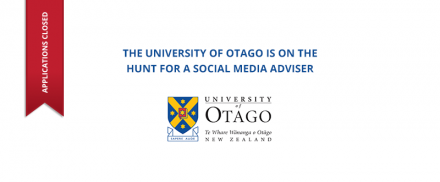 University Of Otago – Social Media Adviser