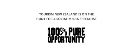 Tourism New Zealand – Social Media Specialist
