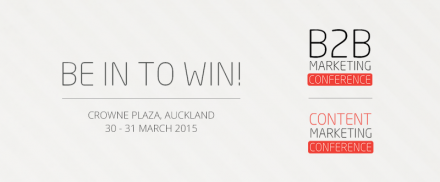 Win tickets to the B2B/Content Marketing conference