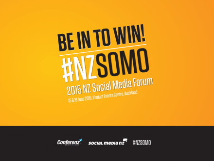 Win tickets to the NZ Social Media Forum!
