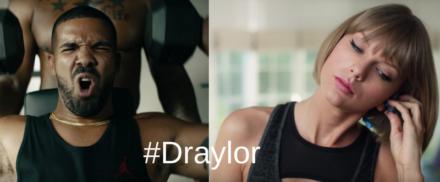 Drake and Taylor Swift = #Draylor