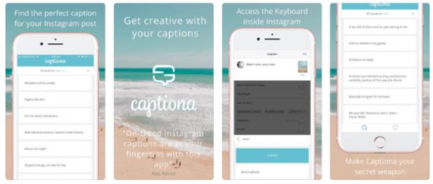 Captiona app