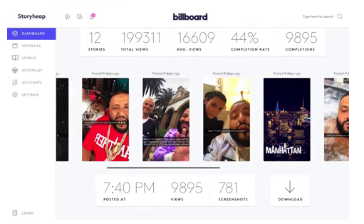 Storyheap social media app