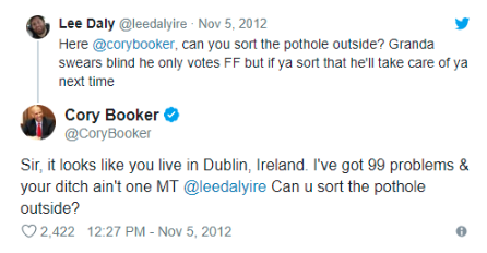Cory Brooker tweet
