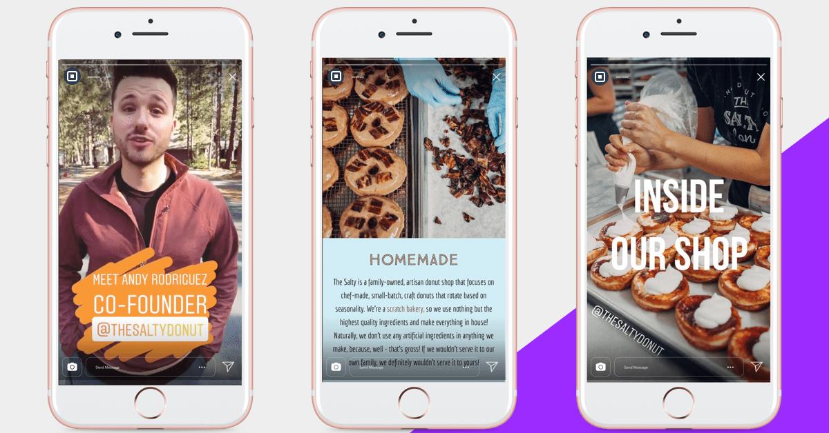 The Salty Donut Instagram Stories