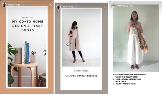 instagram stories templates by Lee Vosburgh