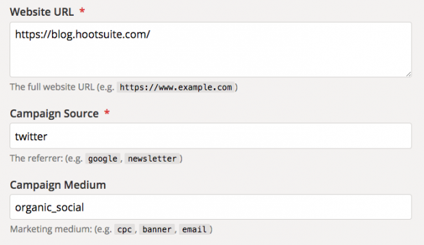 Setting up UTM parameters in Google Analytics
