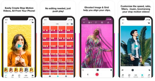 LifeLapse Instagram Story app