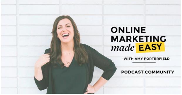 Online Marketing Made Easy podcast banner