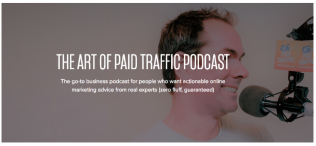 The Art of Paid Traffic podcast banner