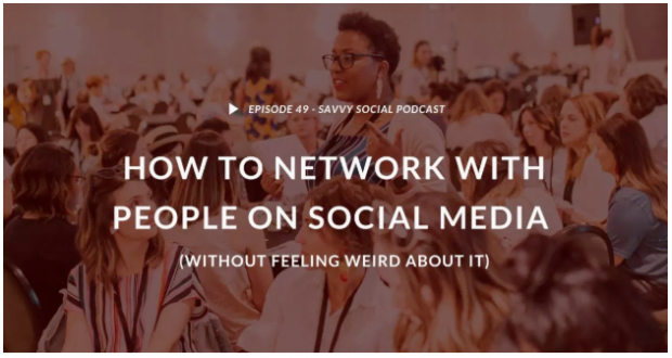 Savvy Social Podcast by Andréa Jones episode 49