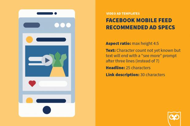 Facebook video ad mobile specs