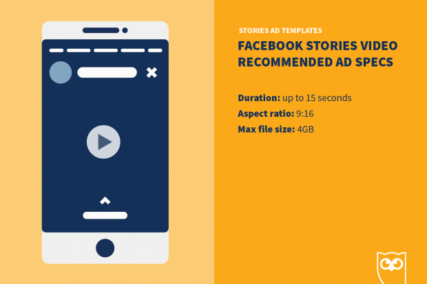 Facebook Stories ad template specs