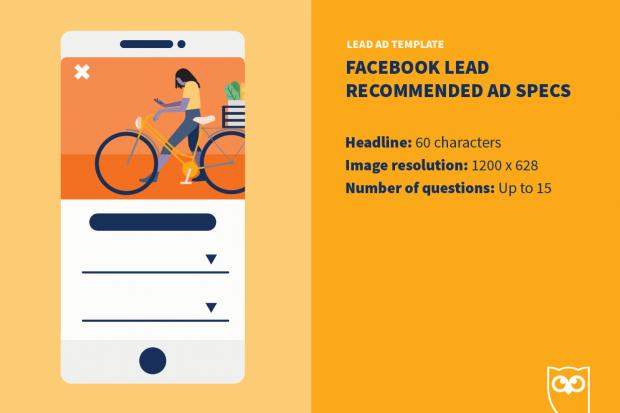 Facebook lead ad template specs