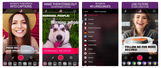 Cliptomatic video app for Instagram