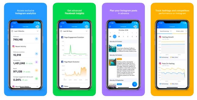 Iconosquare analytics app for Instagram