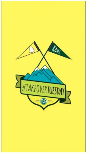 CSU #takeovertuesday Snapchat story