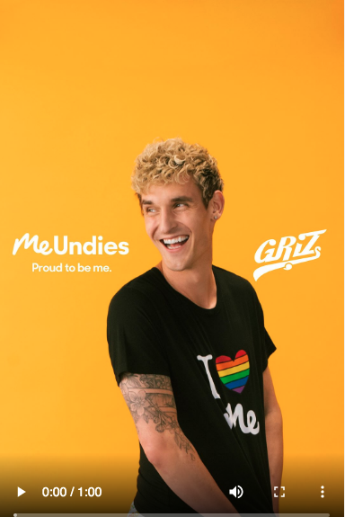 Me Undies Instagram Stories ad